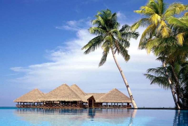 зима, Мальдивы