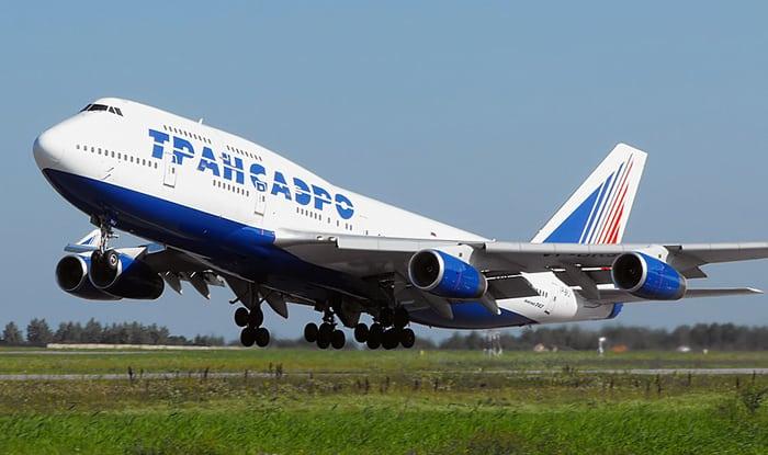 Бинг 747 Трансаэро