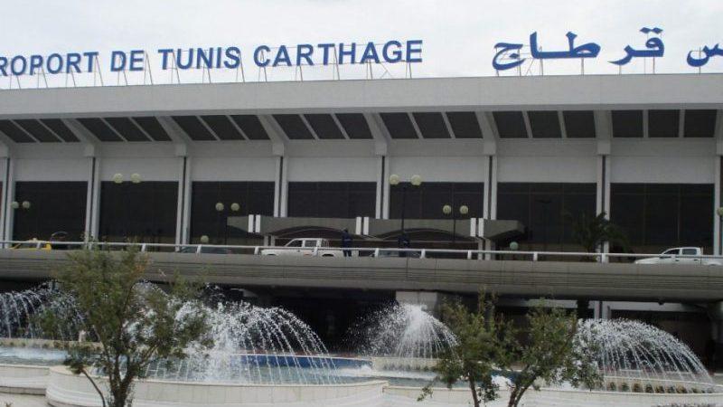 аэропорты Туниса на карте