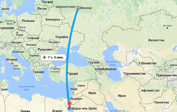 Что привлекает россиян в Шарм-эль-Шейхе