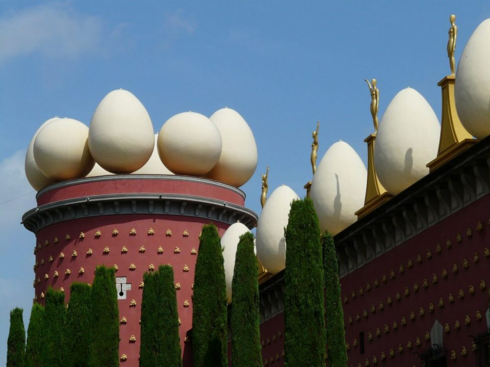 Музей Дали Дали Яйцо Шар Музей Фигерас Испания