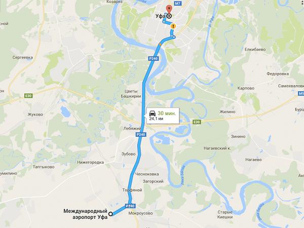 Дорога на автобусе