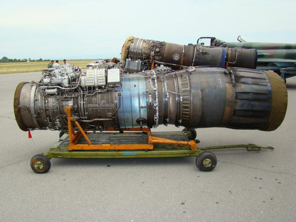 Двигатель МиГ-29