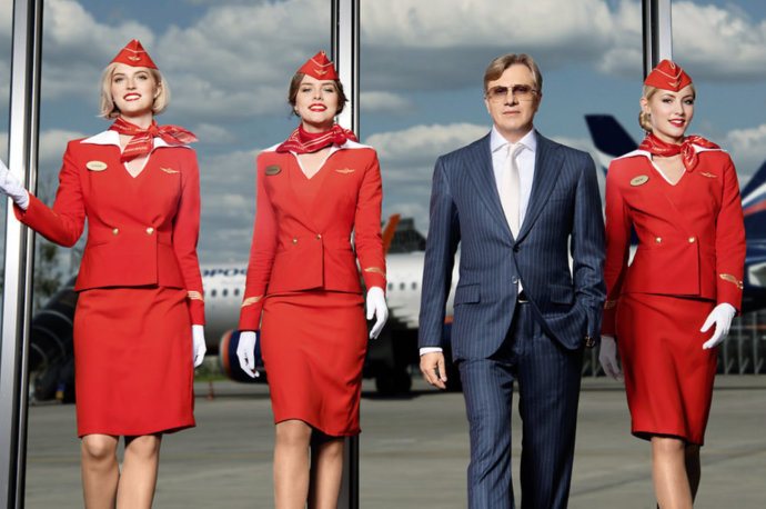 Авиакомпания Аэрофлот (стюардессы и генеральный директор)