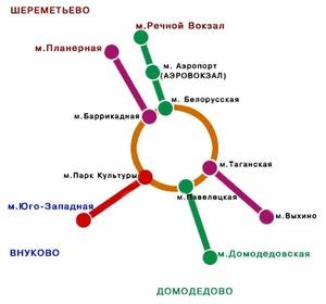 Экспресс до Шереметьево