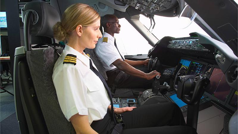 Женщины-пилоты гражданских самолетов: мировой опыт