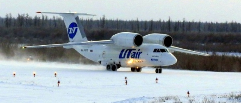 фото самолета АН-74 ЮТэйр