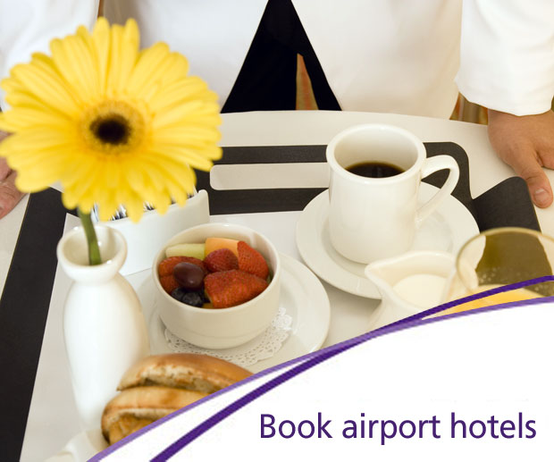 Airport hotels: book with Heathrow