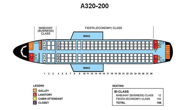 Airbus 320 Уральские авиалинии лучшие места