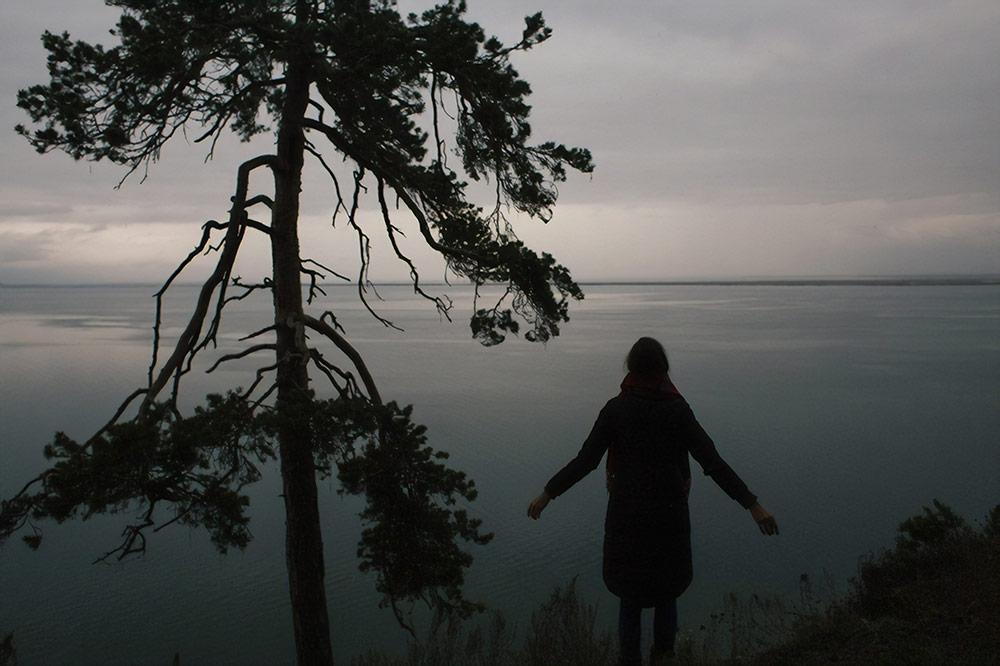 Пляж Баргузинского залива. Здесь всегда сильно меньше людей, чем на Ольхоне
