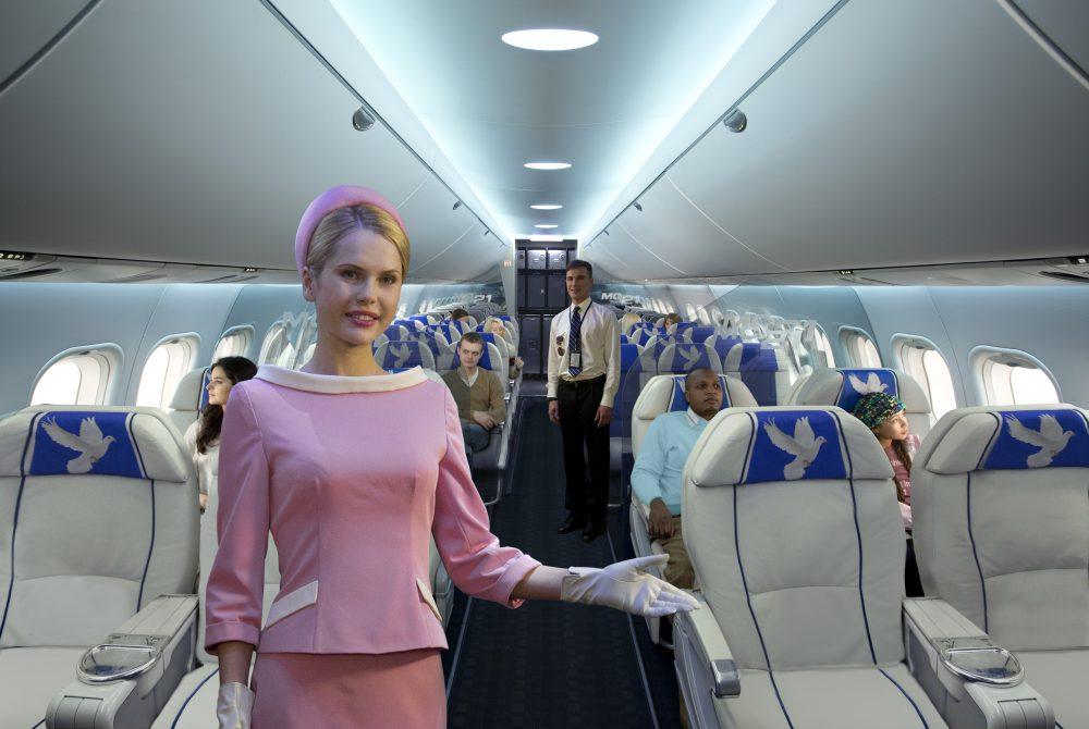 Самолет и салон