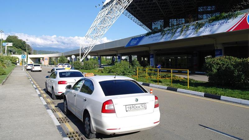 Сколько километров от аэропорта до Сочи