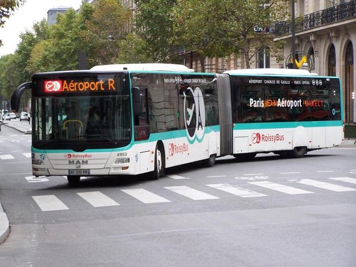 Как добраться из аэропорта к центру Парижа