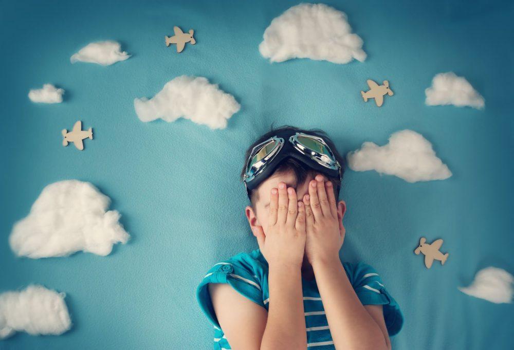 Ребенок боится полетов на самолете
