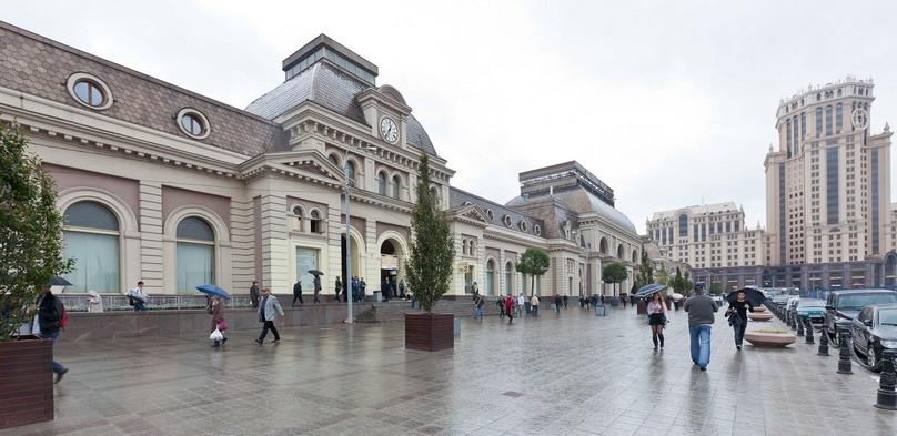 Пассажирский терминал Павелецкого вокзала