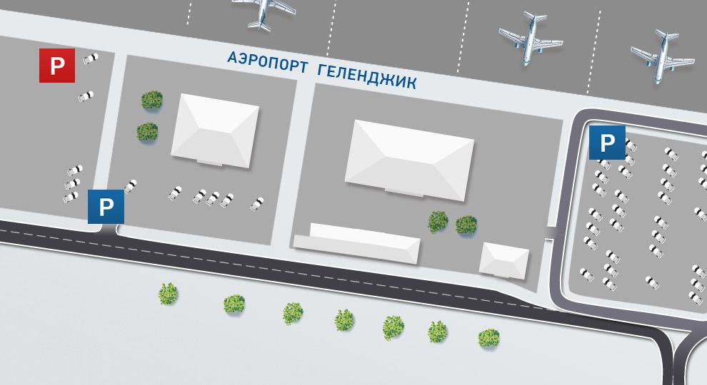 Расположение парковок