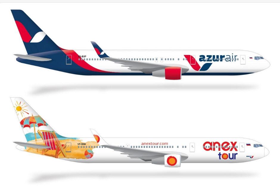 Внешний вид Боинг 767-300