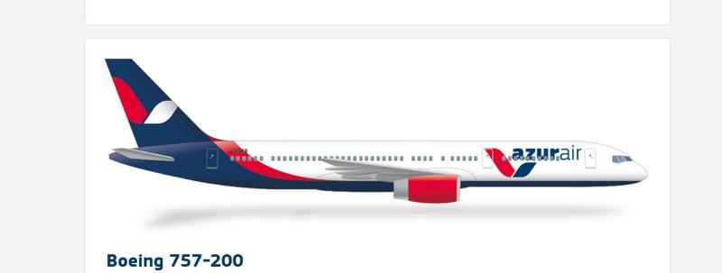 Внешний вид Боинга 757-200