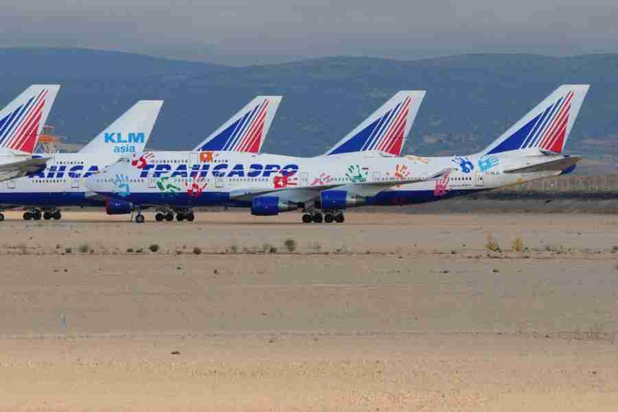 Куда делись самолеты трансаэро после банкротства