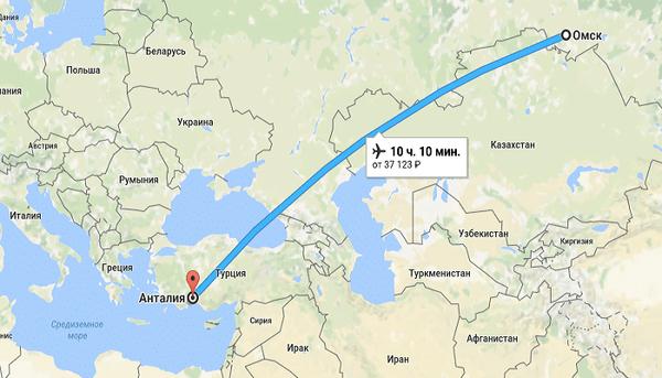 Куда поехать на отдых из Омска