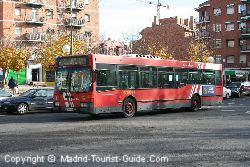 Автобусы EMT в аэропорту Мадрида