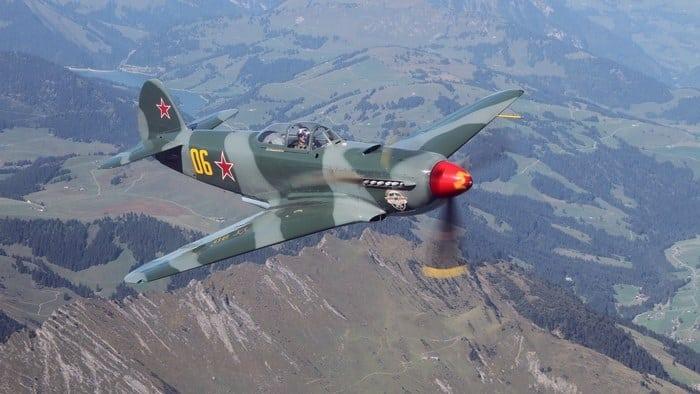 ЯК-9 в небе