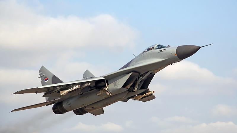 Миг-29: самолет с вертикальным взлетом