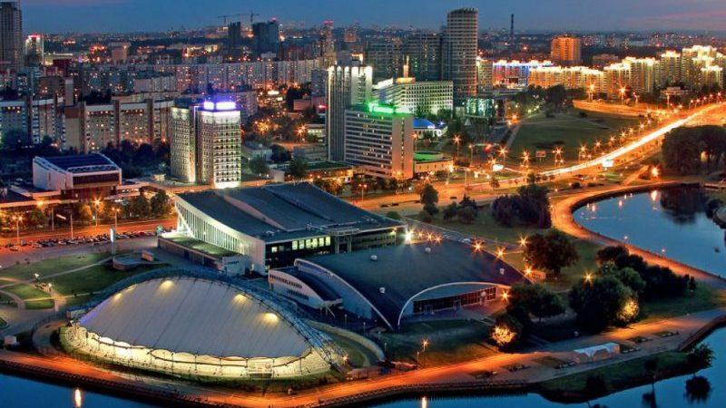Москва Минск время полета