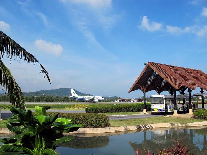 Необычный воздушный вокзал острова
