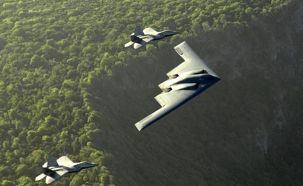В-2 бомбардировщик
