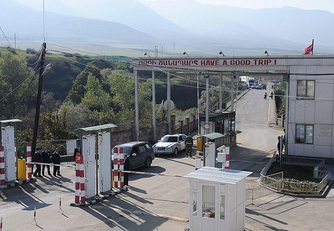 КПП на армянской границе