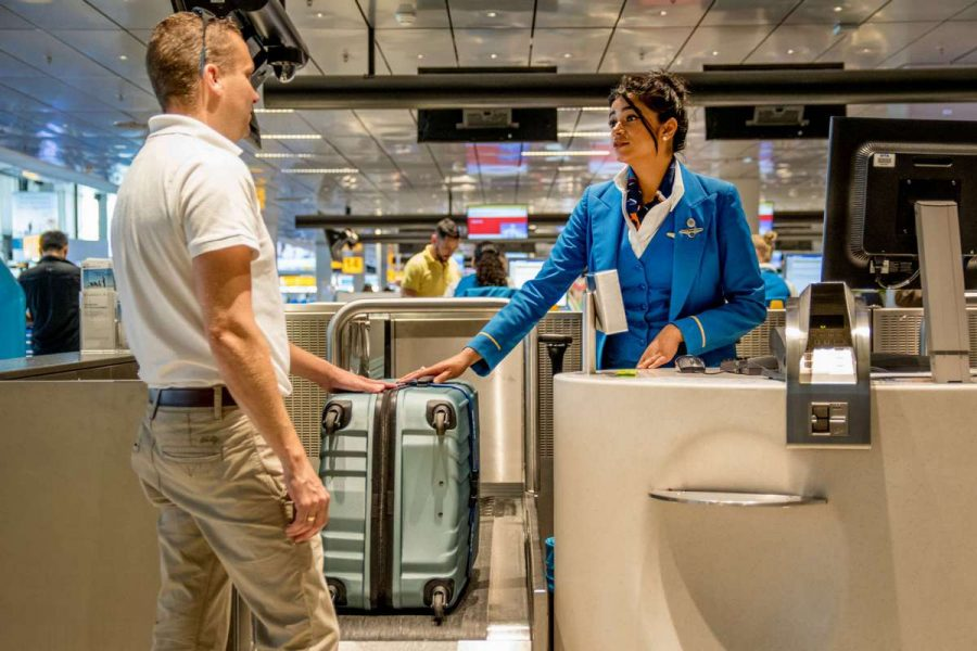 Регистрация багажа в аэропорту