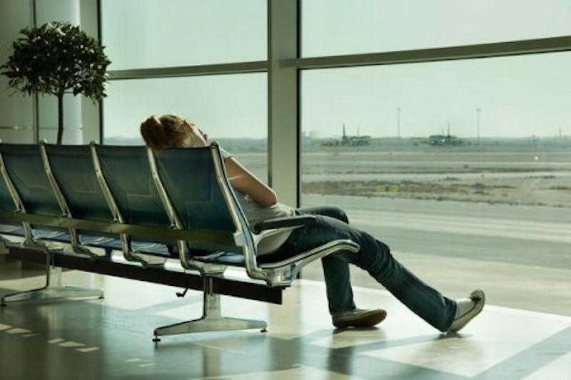 отдых при пересадки на другой самолет