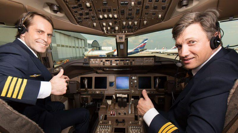 какая зарплата у пилота пассажирского самолета в России