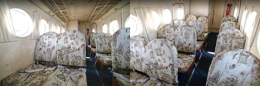 Салон Ан-2/Ан-3 авиакомпании Полярные Авиалинии