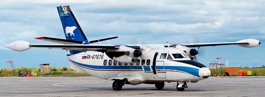 Let L-410 Turbolet авиакомпании Полярные Авиалинии