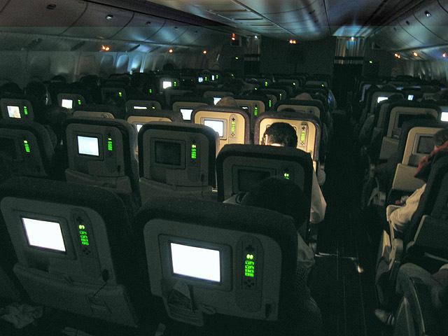 пассажиры самолёта