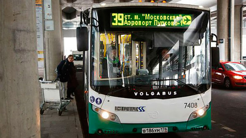 автобус до аэропорта Пулково
