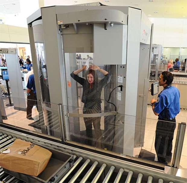 Как работает рентген в аэропорту?