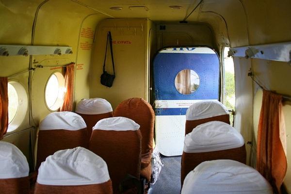 Салон пассажирского АН-2П