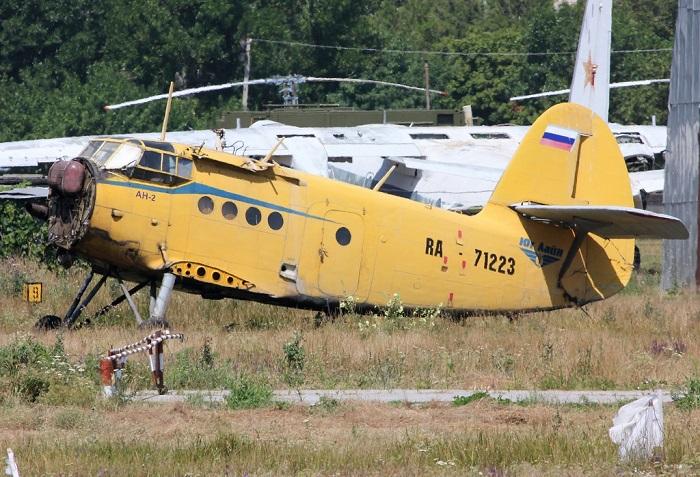 Самолеты Ан-2 в аэропорту Ейска