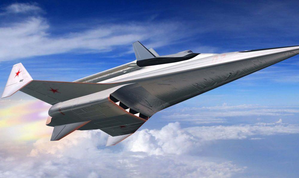 Самолет будущего с ПРВД
