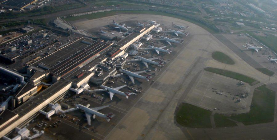 Аэропорт Хитроу в лондоне