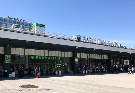Станция Barcelona Sants