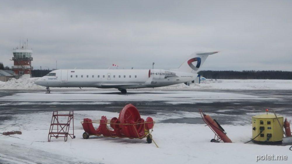Bombardier CRJ200 а/к Северсталь