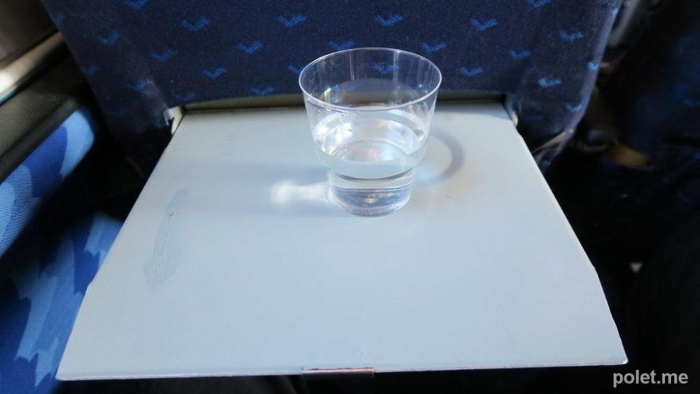 Питание на рейсе Череповец - Великий Устюг