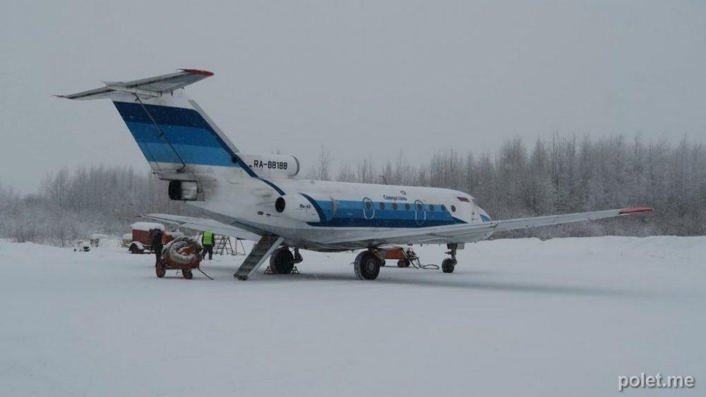 Як-40 RA-88188 в Великом Устюге