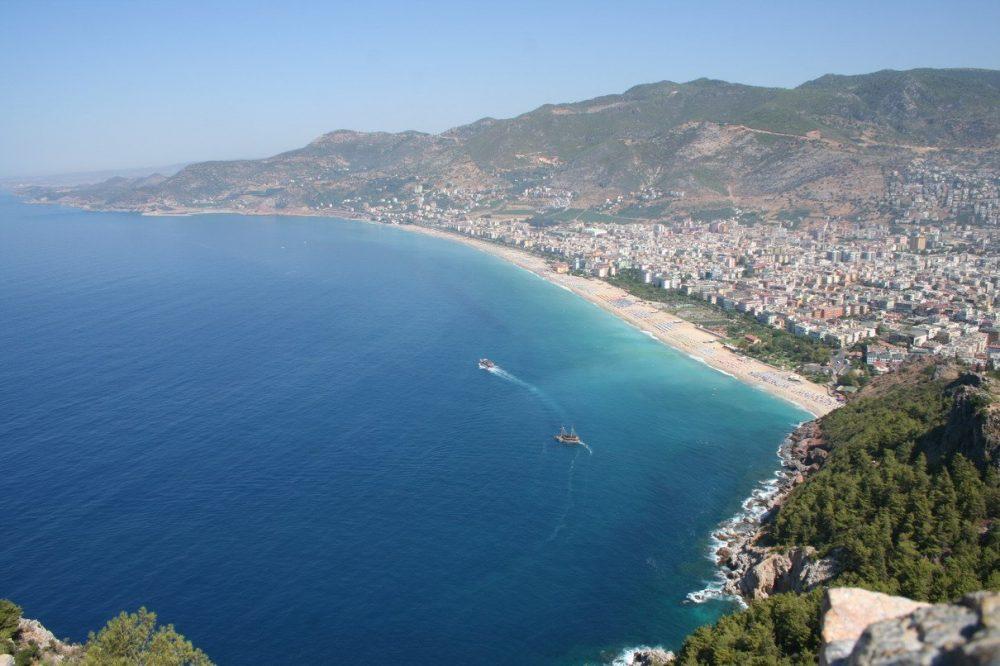 Анталия популярный турецкий курортный город