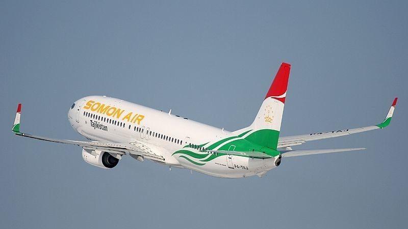 "Национальный авиаперевозчик Таджикистана ""Somon Air"" (Сомон Эйр)"