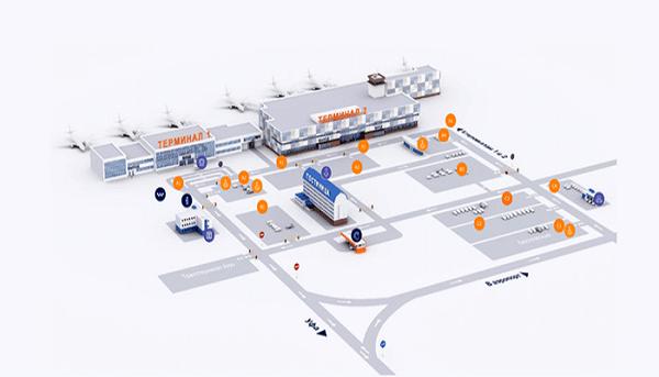 Структура аэропорта Уфы